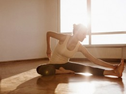 Private yoga sessions.